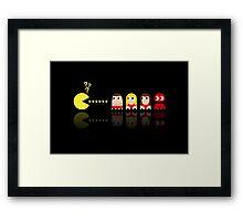 Pacman Baywatch Framed Print
