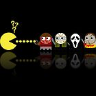 Pacman Horror Movie Heroes by NicoWriter