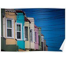 California Suburb Poster