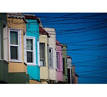 California Suburb Photographic Print
