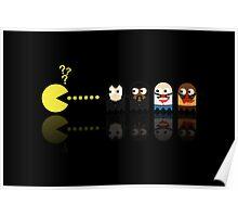 Pacman Pulp Fiction Poster