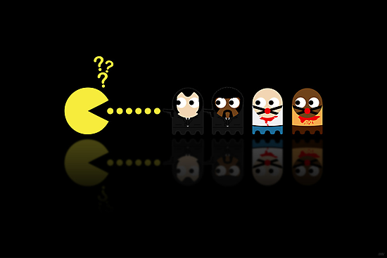 Pacman Pulp Fiction by NicoWriter