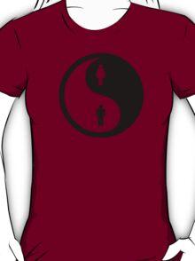 Yin Yang Man Woman T-Shirt