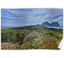 Lord Howe Island Poster
