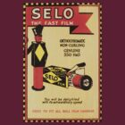 Vintage Selo Advert on Photographic Wallet by Kawka