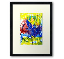 Best Of Yellow Is Green Framed Print