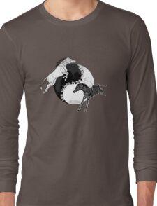 Yin Yan Horses Long Sleeve T-Shirt