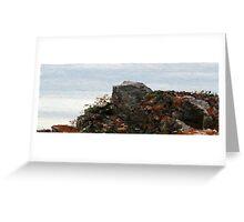Ragged Rocks Greeting Card