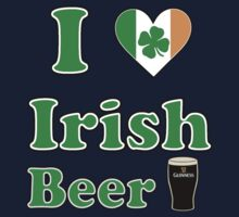 i love irish beer by superedu