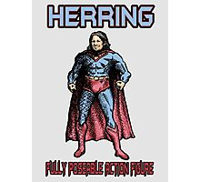 Richard Herring Action Figure Photographic Print
