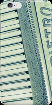 Retro iphone Piano Accordian by Alexh