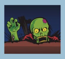 ZOMBIE GHETTO OFFICIAL ARTWORK DESIGN T-SHIRT by ZombieGhetto