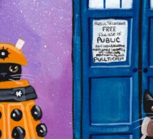 The Doctor and the Dalek Sticker