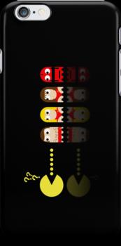 Pacman Baywatch by NicoWriter