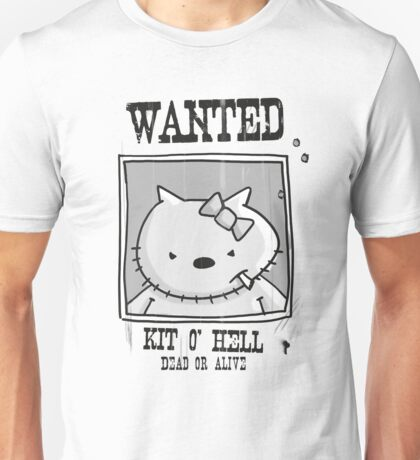 Wanted: Kitty o Hell  Unisex T-Shirt
