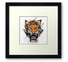 Unrelenting Ire Framed Print