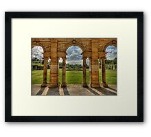 Hever Castle gardens Framed Print
