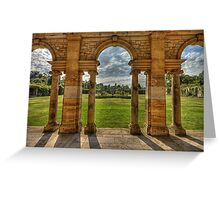 Hever Castle gardens Greeting Card