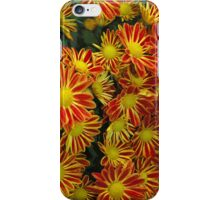 Mums - Red & Yellow iPhone Case/Skin