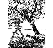Stone Lantern 1, Kanazawa Photographic Print