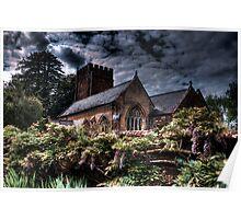 All Saints Church,  Nynehead Poster