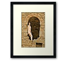 Archway to heaven Framed Print