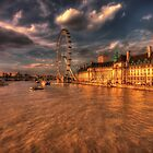 London Eye at Sunset by Dean Messenger