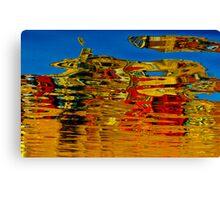 Artistic reflection Canvas Print