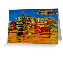 Artistic reflection Greeting Card