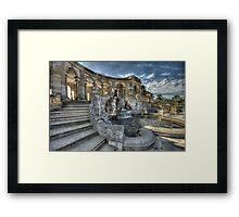 Hever Castle Loggia Framed Print