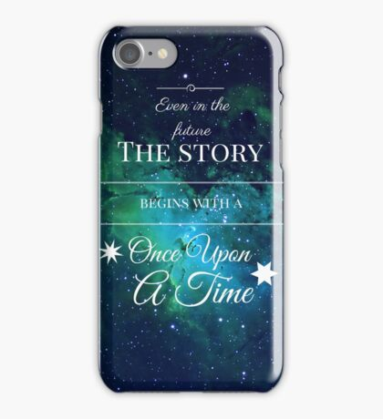 Once Upon a Time- The Lunar Chronicles- Marissa Meyer- Space iPhone Case/Skin