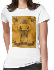 El Hijo De Dios Womens Fitted T-Shirt