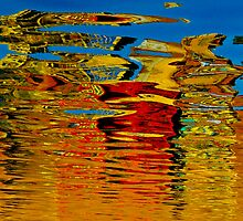 Colorful reflections by raymona pooler