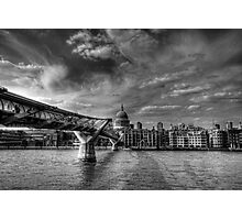 St Pauls Black and White Photographic Print
