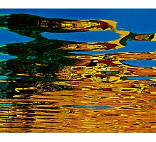 Colorful water reflection Photographic Print