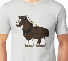 Shire in Harness Unisex T-Shirt