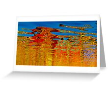 Painted water Greeting Card