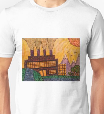 Over The Hill and Past The Stream Unisex T-Shirt