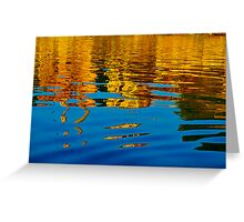 Painting on water Greeting Card