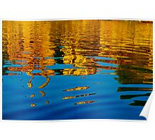 Painting on water Poster