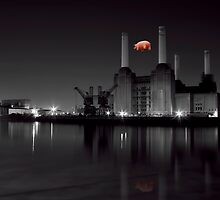 battersea Pink floyd by Dean Messenger