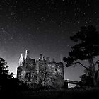 Dirleton Castle under the stars by bigwhisper76