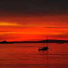 Sunset over the Forth  by bigwhisper76