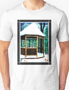 Winter Gazebo Unisex T-Shirt
