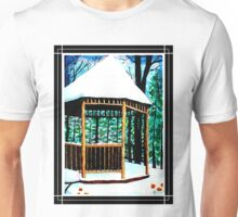 Winter Gazebo Unisex T-Shirt