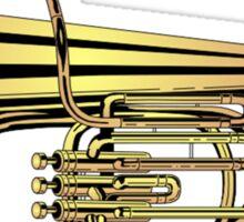 Kiss My Brass, Tuba Sticker