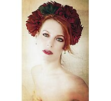 A Diadem of Red Photographic Print