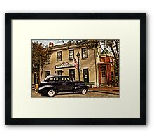SNAPPERS SALOON RIPLEY OHIO Framed Print