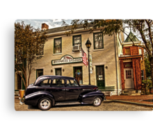 SNAPPERS SALOON RIPLEY OHIO Canvas Print