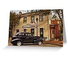 SNAPPERS SALOON RIPLEY OHIO Greeting Card